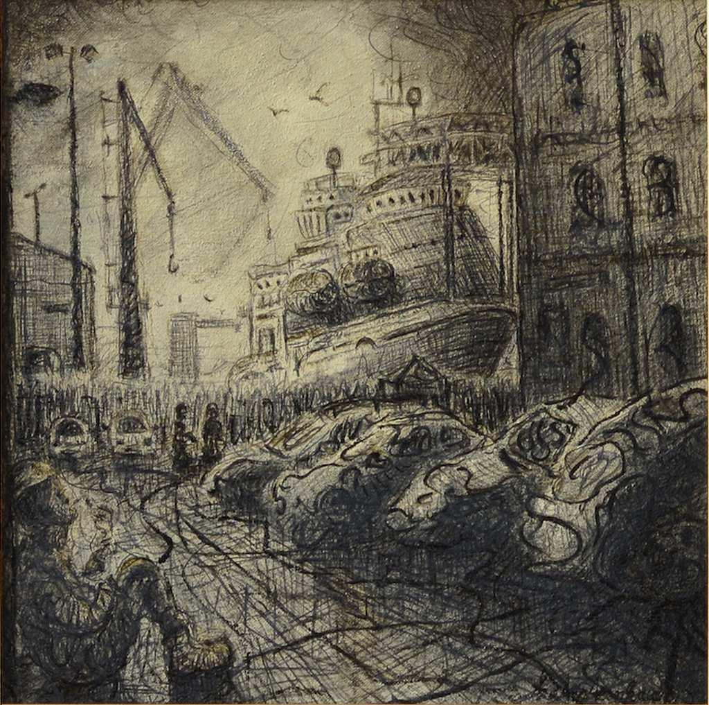Harkand Da Vinci along Waterloo Quay